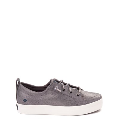 Main view of Sperry Top-Sider Crest Vibe Casual Shoe - Little Kid / Big Kid - Pewter