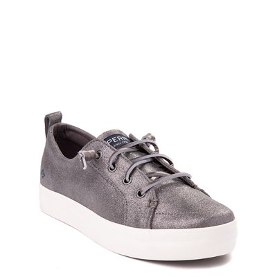 Alternate view of Sperry Top-Sider Crest Vibe Casual Shoe - Little Kid / Big Kid - Pewter