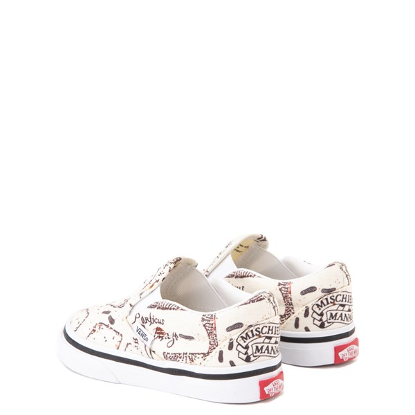 alternate view Vans x Harry Potter Slip On Marauder's Map Skate Shoe - Baby / ToddlerALT2