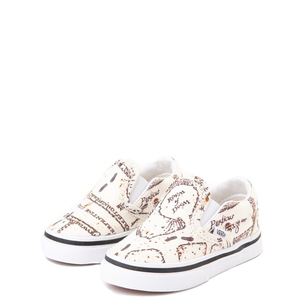 alternate view Vans x Harry Potter Slip On Marauder's Map Skate Shoe - Baby / ToddlerALT3