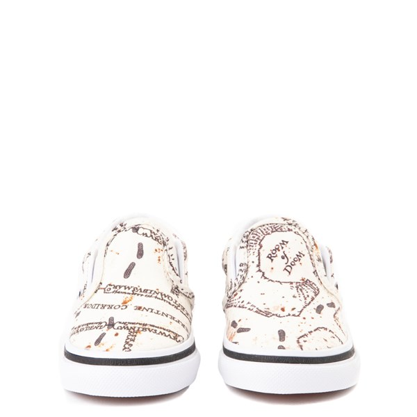alternate view Vans x Harry Potter Slip On Marauder's Map Skate Shoe - Baby / ToddlerALT4