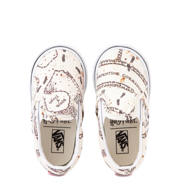 alternate view Vans x Harry Potter Slip On Marauder's Map Skate Shoe - Baby / ToddlerALT7