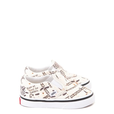 Main view of Vans x Harry Potter Slip On Marauder's Map Skate Shoe - Baby / Toddler