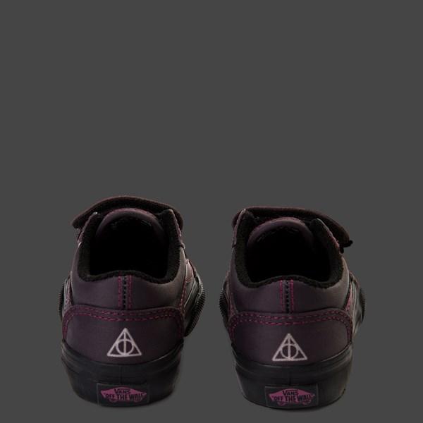 alternate view Vans x Harry Potter Old Skool V Deathly Hallows Skate Shoe - Baby / ToddlerALT10