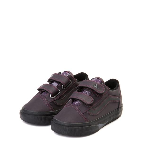 alternate view Vans x Harry Potter Old Skool V Deathly Hallows Skate Shoe - Baby / ToddlerALT3