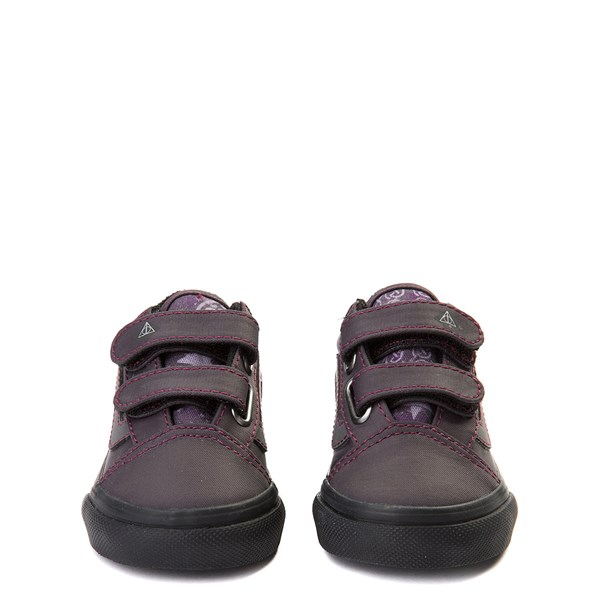 alternate view Vans x Harry Potter Old Skool V Deathly Hallows Skate Shoe - Baby / ToddlerALT4