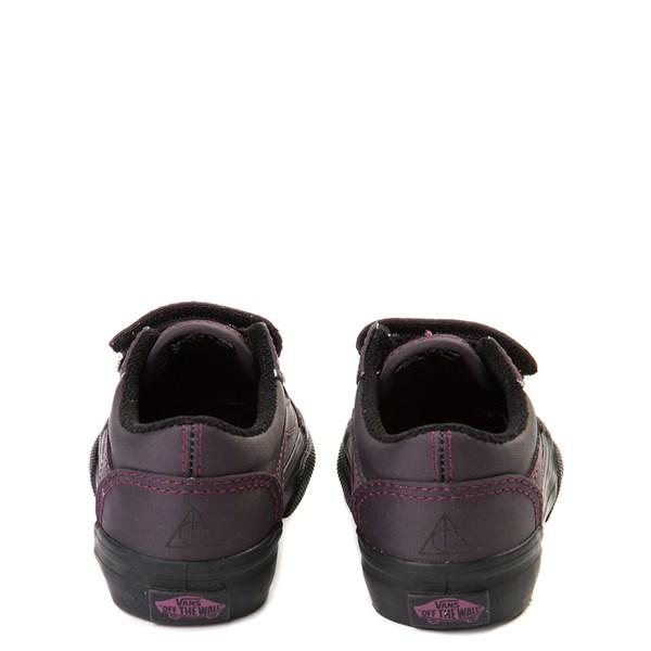 alternate view Vans x Harry Potter Old Skool V Deathly Hallows Skate Shoe - Baby / ToddlerALT6