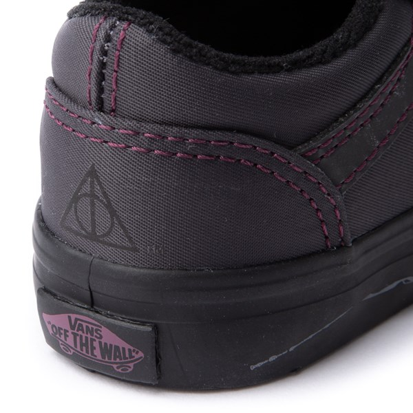 alternate view Vans x Harry Potter Old Skool V Deathly Hallows Skate Shoe - Baby / ToddlerALT7
