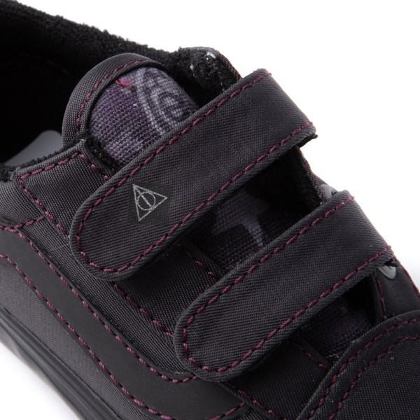 alternate view Vans x Harry Potter Old Skool V Deathly Hallows Skate Shoe - Baby / ToddlerALT8
