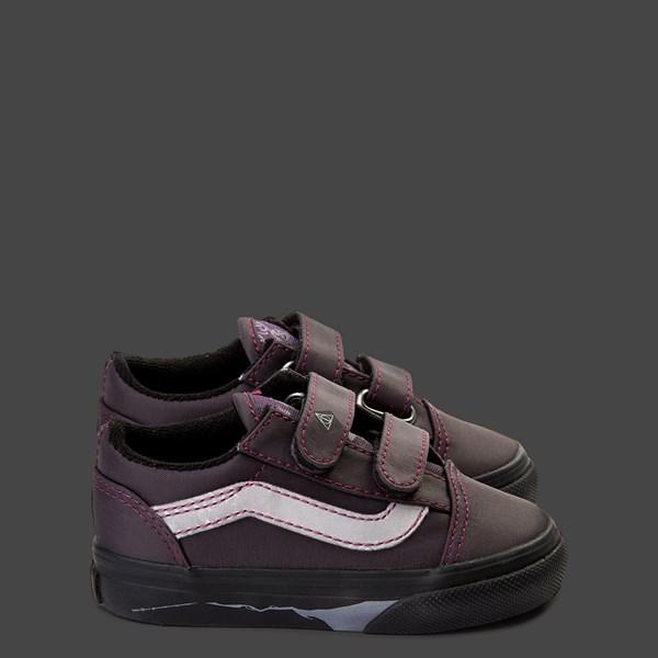 alternate view Vans x Harry Potter Old Skool V Deathly Hallows Skate Shoe - Baby / ToddlerALT9