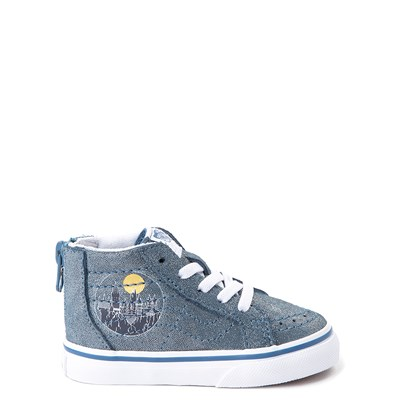 Main view of Vans x Harry Potter Sk8 Hi Zip Hogwarts Skate Shoe - Baby / Toddler