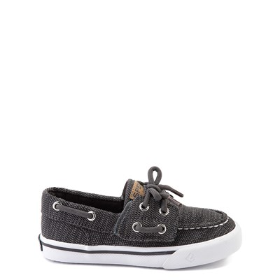 Main view of Sperry Top-Sider Bahama Casual Shoe - Toddler / Little Kid - Dark Gray