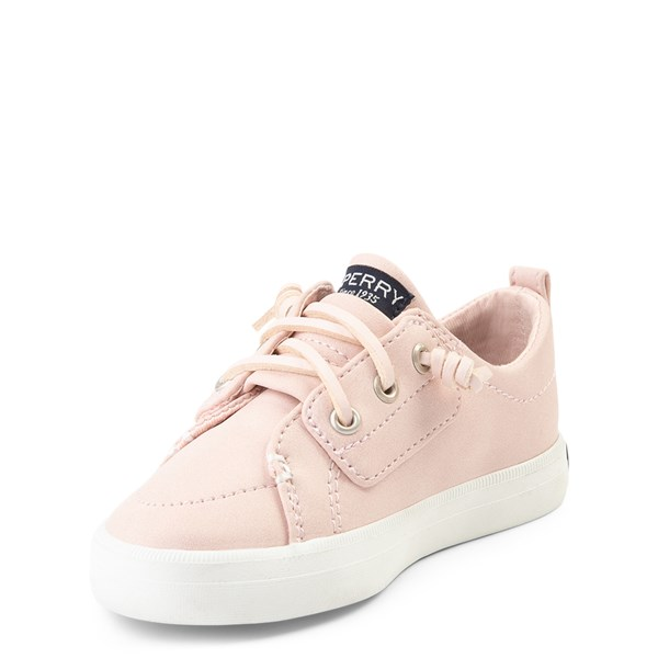 alternate view Sperry Top-Sider Crest Vibe Casual Shoe - Toddler / Little Kid - BlushALT3