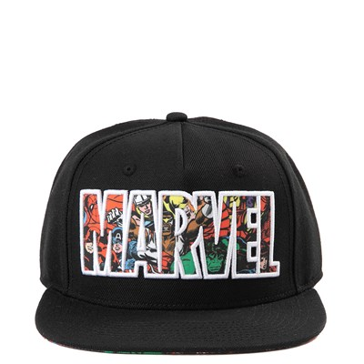 Main view of Marvel Logo Snapback Hat - Little Kid