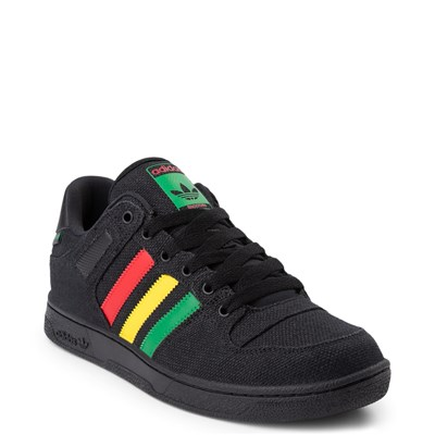 Alternate view of Mens adidas Bucktown Athletic Shoe - Black / Multi