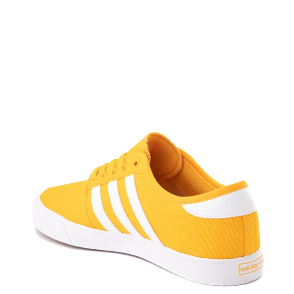 alternate view Mens adidas Seeley Skate Shoe - YellowALT2