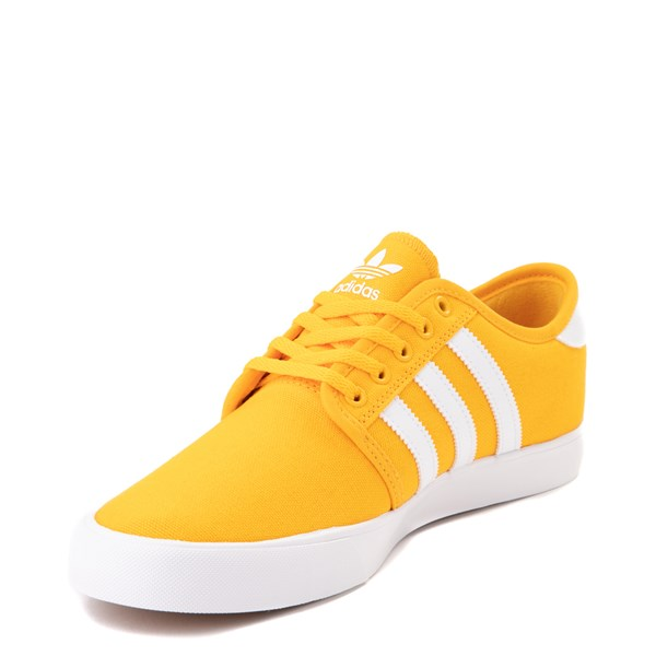 alternate view Mens adidas Seeley Skate Shoe - YellowALT3