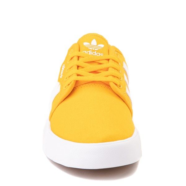 alternate view Mens adidas Seeley Skate Shoe - YellowALT4