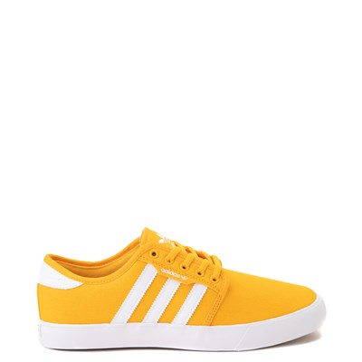 Main view of Mens adidas Seeley Skate Shoe - Yellow