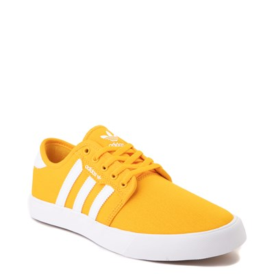 Alternate view of Mens adidas Seeley Skate Shoe - Yellow