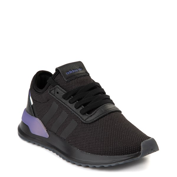 alternate view Womens adidas U_Path X Athletic Shoe - Black / Gradient PurpleALT1
