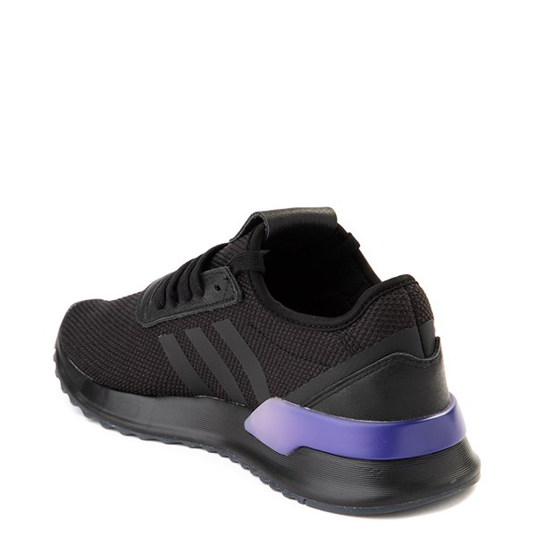 alternate view Womens adidas U_Path X Athletic Shoe - Black / Gradient PurpleALT2
