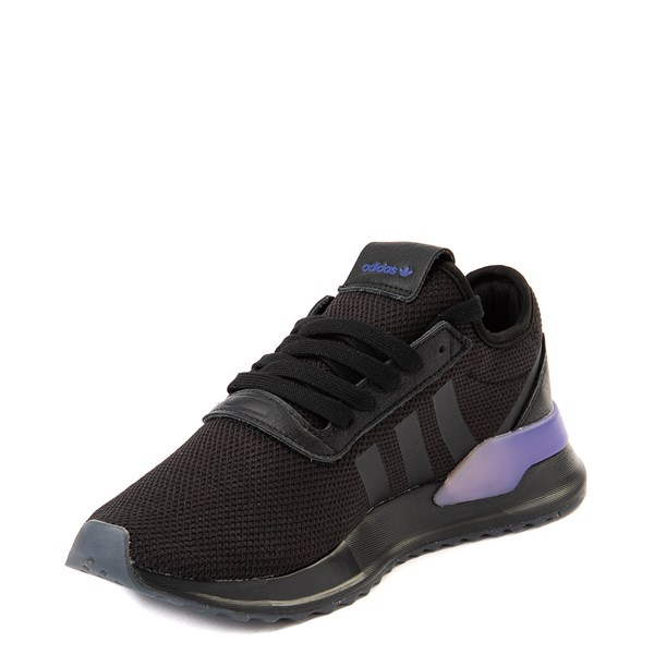 alternate view Womens adidas U_Path X Athletic Shoe - Black / Gradient PurpleALT3