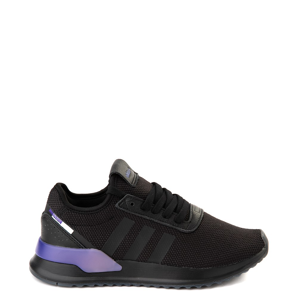 Womens adidas U_Path X Athletic Shoe - Black / Gradient Purple