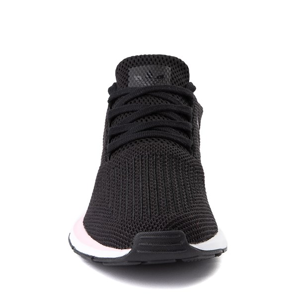 alternate view Womens adidas Swift Run Athletic Shoe - Black / PinkALT4