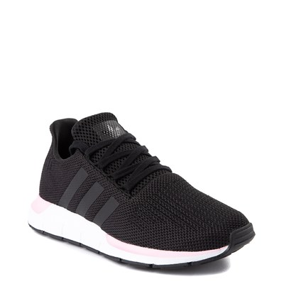 Alternate view of Womens adidas Swift Run Athletic Shoe - Black / Pink