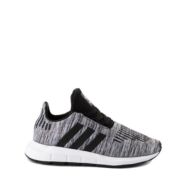 adidas Swift Run Athletic Shoe - Little Kid - Gray / Black