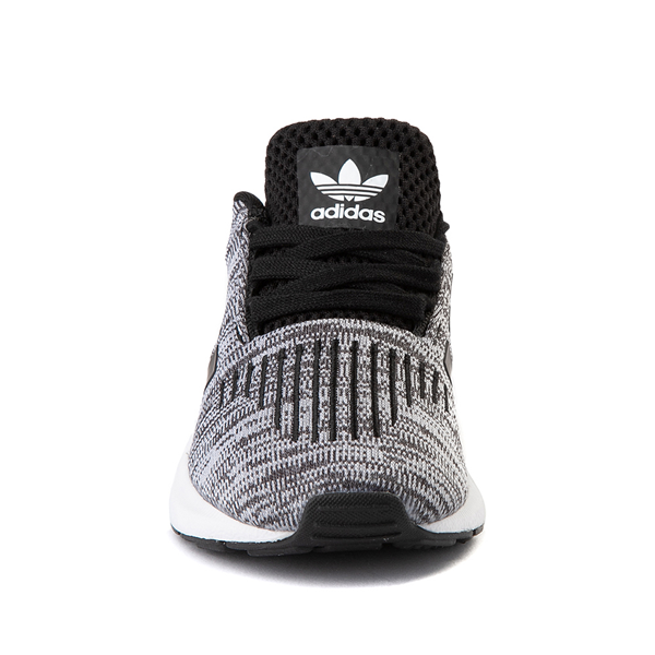 alternate view adidas Swift Run Athletic Shoe - Baby / Toddler - Gray / BlackALT4
