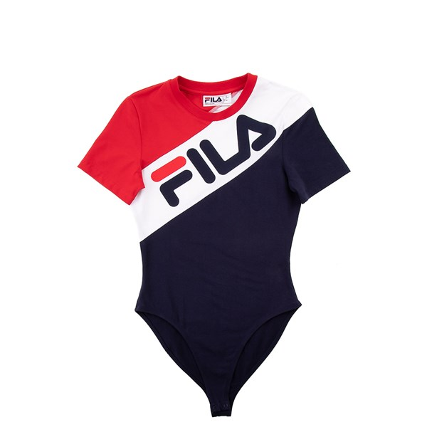 alternate view Womens Fila Claudine BodysuitALT4