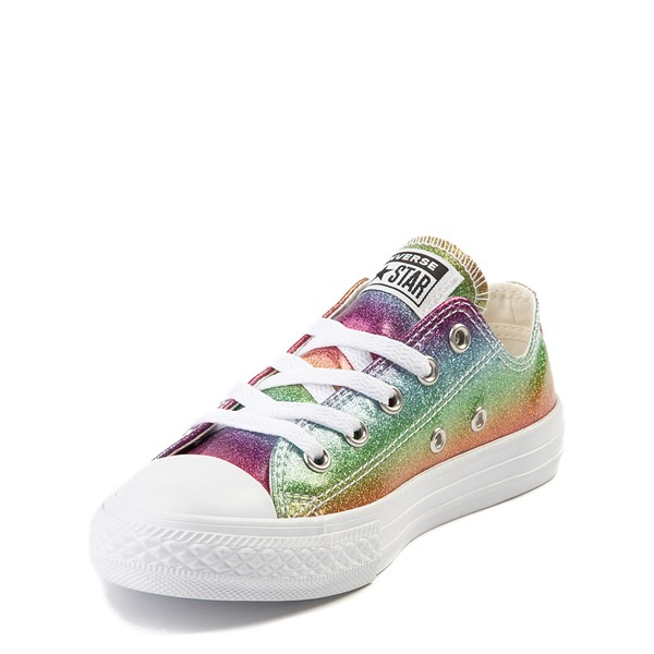 alternate view Converse Chuck Taylor All Star Lo Glitter Sneaker - Little Kid - MultiALT2