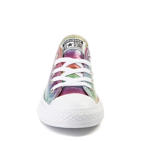 alternate view Converse Chuck Taylor All Star Lo Glitter Sneaker - Little Kid - MultiALT4
