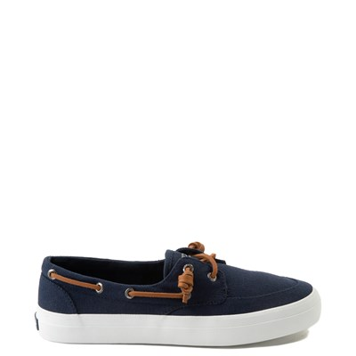 Main view of Womens Sperry Top-Sider Crest Boat Shoe - Navy