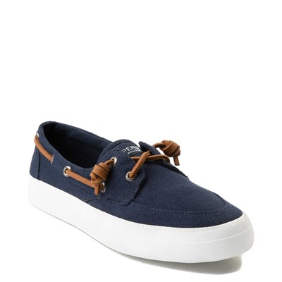 Alternate view of Womens Sperry Top-Sider Crest Boat Shoe - Navy