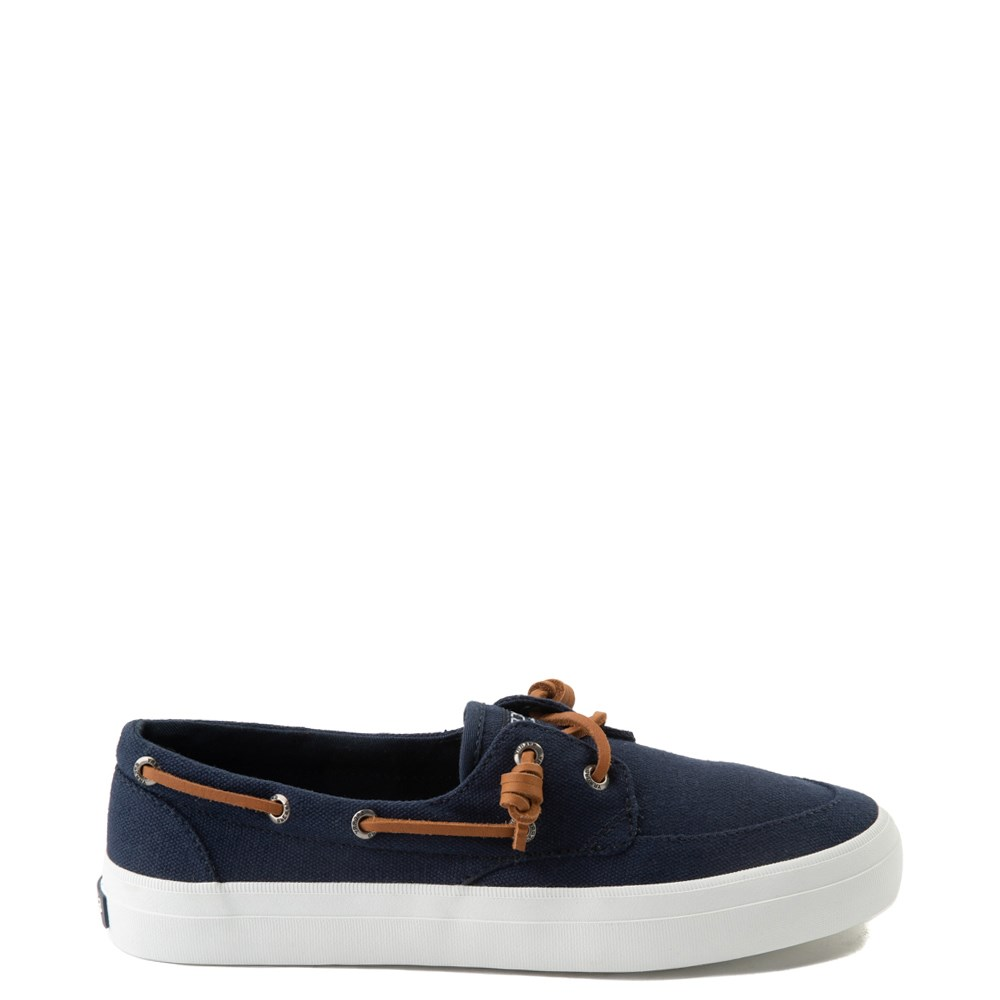 Womens Sperry Top-Sider Crest Boat Shoe - Navy