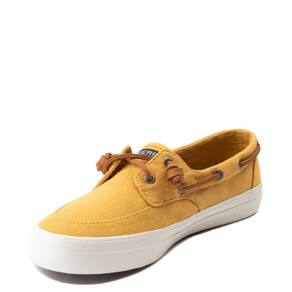 alternate view Womens Sperry Top-Sider Crest Boat Shoe - Mineral YellowALT3-Edit