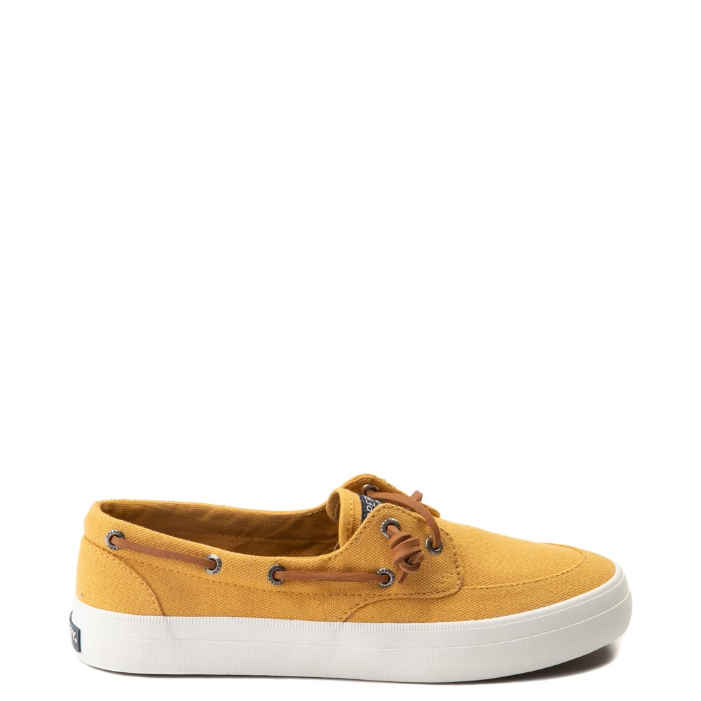 Womens Sperry Top-Sider Crest Boat Shoe - Mineral Yellow