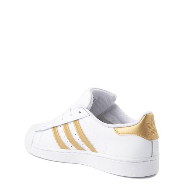 alternate view adidas Super Star Athletic Shoe - Little KidALT2