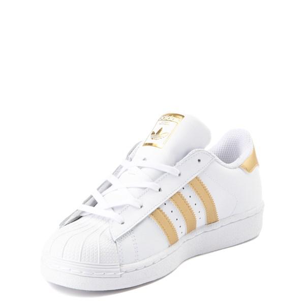 alternate view adidas Super Star Athletic Shoe - Little KidALT3