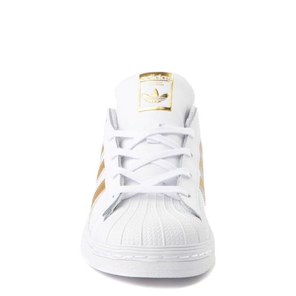 alternate view adidas Super Star Athletic Shoe - Little KidALT4
