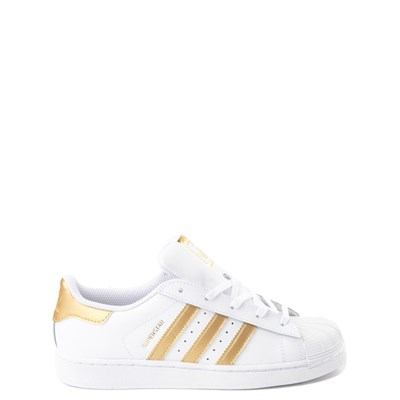 Main view of adidas Super Star Athletic Shoe - Little Kid