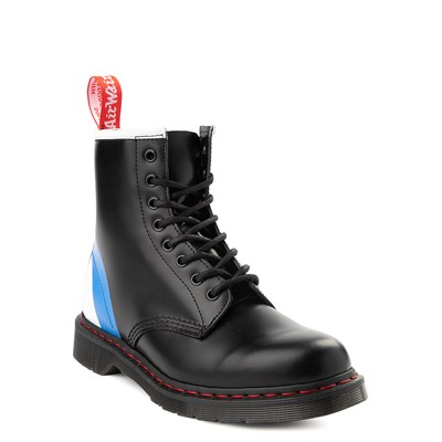Alternate view of Dr. Martens 1460 8-Eye The Who Boot