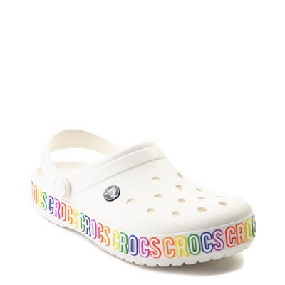 Alternate view of Crocs Crocband™ Clog - White / Multi