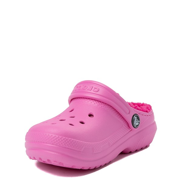 alternate view Crocs Classic Fuzz-Lined Clog - Baby / Toddler / Little KidALT3