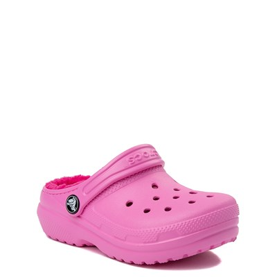 Alternate view of Crocs Classic Fuzz-Lined Clog - Baby / Toddler / Little Kid