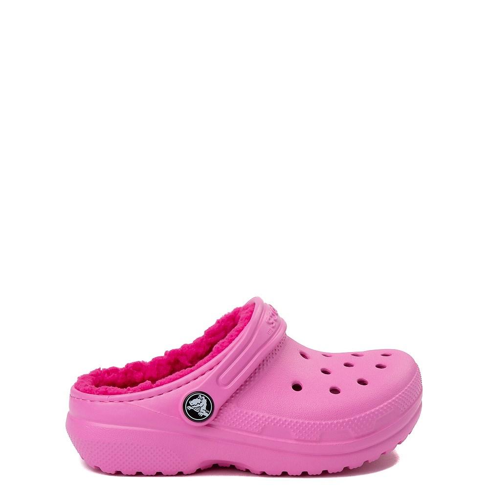 1d8e56de9ded Crocs Classic Fuzz-Lined Clog - Baby   Toddler   Little Kid