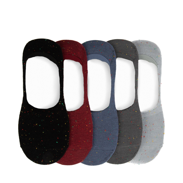 Main view of Mens Speckled Liners 5 Pack